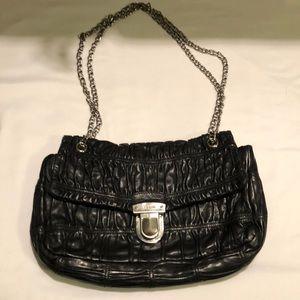 Prada Nappa Gaufre black leather bag